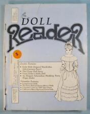 Doll Reader Vintage Collectors Magazine October 1984 Dolls With Wardrobes (O)