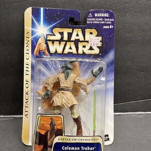 Star Wars Attack of the Clones Collection 2 Coleman Trebor action figure new