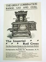 1902 Rochester New York Advertisement Cunningham Carriages Imperial Cross Stoves
