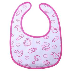 Little for Big Adult Nursery Pink Bib - Special Needs