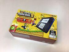New Nintendo 2DS Blue / Black with preloaded New Super Mario 2 *European Version