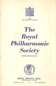 1954 Paul Tortelier cello Murrill 2 Strauss Sargent Ferrier memorial ad programm