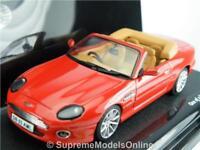 ASTON MARTIN DB7 VOLANTE CAR MODEL 1/43RD SCALE RED COLOUR EXAMPLE T3412Z(=)