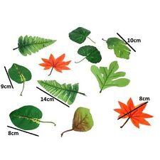 100 Artificial Leaf Leaves Craft Green plant flowers Wedding Foilage Fake Home