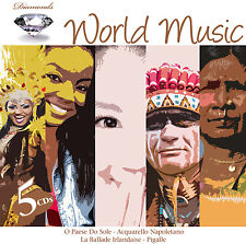 CD World Music von Various Artists 5CDs