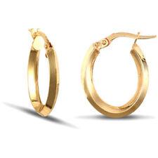 Pendientes de joyería de metales preciosos sin piedras oro