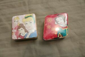 NEW 2 Disney Christmas Princesses Snow White Magic Towels Face Cloth/Wash Cloth