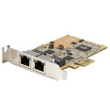 StarTech ST1000SPEXDP 2 Port Dual PCI Express Gigabit Ethernet Network Card
