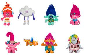 Trolls Dreamworks Licensed Movie Plush Soft Toys Poppy Baby Branch Cooper 30 cm