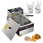 12L Electric Deep Fryer Commercial Countertop Basket French Fry FamilyFrench photo