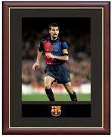 Josep Guadriola Mounted Framed & Glazed Memorabilia Gift Football Soccer