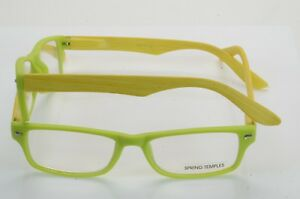 GEORGIO CAPONE READERS WITH CLEAR LENS ASSORTED COLORS SPTING TEMPLES   BLT