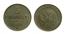 pcc1377_1) LOMBARDO VENETO  - 5 centesimi 1852 Milano