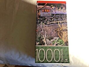 CARDINAL1000 Piece TRAIN Puzzle New WITH POSTER 18X 24