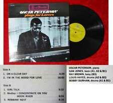 LP Oscar Peterson Plays for Lovers (Prestige 7649) US
