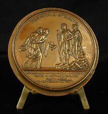 Médaille Napoléon Bonaparte députation des maires de Paris à Schoenbrunn Medal