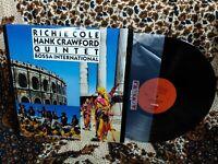 Richie Cole Hank Crawford Quintet LP Bossa International Milestone M-9180 Promo