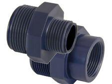 PVC-U Doppelnippel Reduziernippel Muffennippel PVC Fitting Reduzierung Teichbau