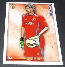 BARBOSA ESPAÑA SEVILLE SEVILLA FOOTBALL CARD LIGA 2014-2015 MUNDICROMO PANINI