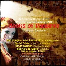 CD - 21 Books of Vampires - Plus Bonus 35 Ebooks in PDF