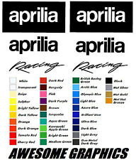 DECAL STICKERS GRAPHICS APRILIA RS 50 125 250,30 COLOUR