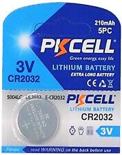 100 x CR2032 3V PKCELL Lithium Batterie auf 20 Blistercard a 5 Stück