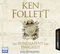 KEN FOLLETT - DAS FUNDAMENT DER EWIGKEIT  6 CD NEW