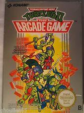 TURTLES II DIE ARCADE GAME NINTENDO NES TURTLES NES II NINJA TURTLES 2