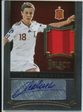ANDER HERRERA 182/185 SELECT SOCCER 2015-16 AUTOGRAPH JERSEY CARD SPAIN
