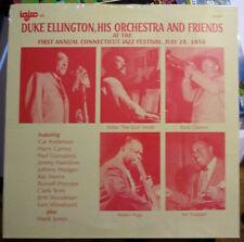 Duke Ellington, His Orchestra & Friends at 1st Annual Connecticut Jazz Fest - LP