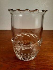 """EAPG Glass Spooner 6"""""""