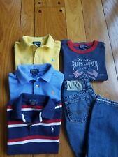 Lot of Boy's Ralph Lauren T shirts size 4T and pants Ralph Lauren, size 4T