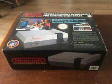 Console nintendo entertainment system NES 8 bit anni 80 NUOVA vintage