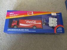 Siku Eurobuilt Ford Beverage Delivery Truck Coca-Cola 1/55 Scale #2918 MIB