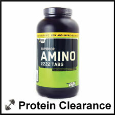 Optimum Nutrition Superior Amino 2222 320 Capsules Tablets BBE FEB 2017