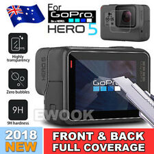 NEW 2pcs LCD Tempered Glass Screen Protector Protective for GoPro Hero 5 Camera