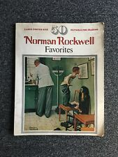 Norman Rockwell Favorites - 50 Large Poster Size Suitable for Framing - 1978