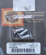 Harley original Zündmodul Schrauben chrom Ignition Modul Cover Screws Sportster