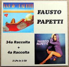 Fausto Papetti – 34ª Raccolta + 4ª Raccolta FIRST TIME ON CD!