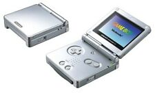 Used Nintendo Game Boy Advance Sp Console Silver Sfc Perfect Working Japan Rare