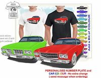 CLASSIC 71-74 HQ LS MONARO COUPE ILLUSTRATED T-SHIRT MUSCLE RETRO SPORTS