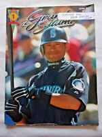 The Grand Salami Magazine Seattle Mariners April 2003 Opening Day Ichiro Cover