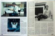 HARRISON FORD => 3 pages 1985 SPANISH CLIPPING / COUPURE DE PRESSE