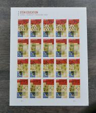 Mint Sheet Of 20 Forever Stamps # 5276-5279 Stem Education