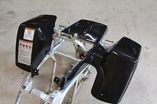 NEW factory OEM 1987-2006 Yamaha Banshee fenders plastic body BLACK front only