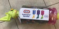 Little Tikes Superspiral Sprinkler Pink NEW