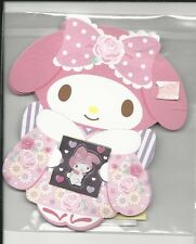 Sanrio My Melody Gift Card Money Holder Set of 4 With Envelope Stickers Bow