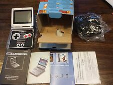 Nintendo Gameboy Advance SP NES edition CIB (Complete in box) official PAL EU