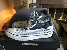 Converse ANDY WARHOL Chuck Taylor High Black Bean Soup Size 10.5