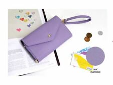 Crown Smart Clutch Wallet (Purple)